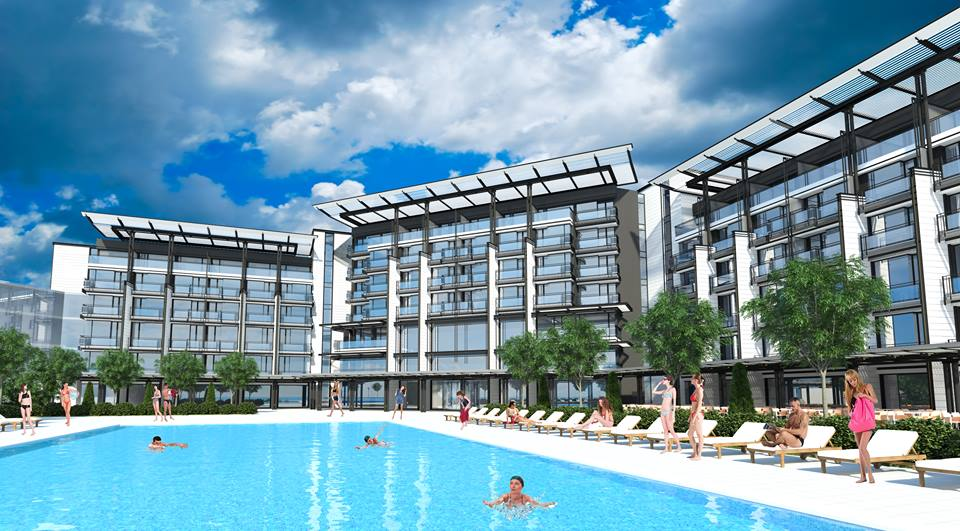 One of the Most Prestigious Tourist Complexes on the Black Sea Coast is Under Construction. The Impressive Resort Named Voya Beach is Built with IKO Materials