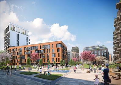 И Нове Хоумс строи с материалите на IKO своя забележителен жилищен комплекс в София