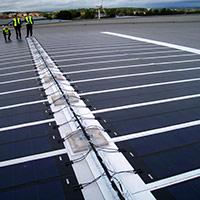 Покрив с фотоволтаични системи Iko Solar 18