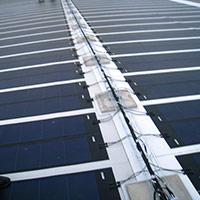 Покрив с фотоволтаични системи Iko Solar 17