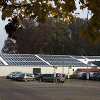 Покрив с фотоволтаични системи Iko Solar 15