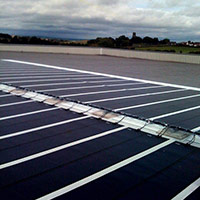 Покрив с фотоволтаични системи Iko Solar 12