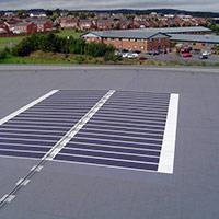 Покрив с фотоволтаични системи Iko Solar 11