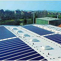 Покрив с фотоволтаични системи Iko Solar 7