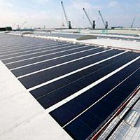 Покрив с фотоволтаични системи Iko Solar 1