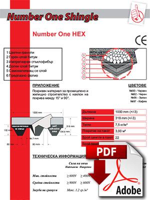 Изтегли листовка Number One HEX - IKO