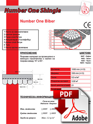 Data Sheet Number One Biber