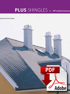 High-end traditional shingles shingles brochure