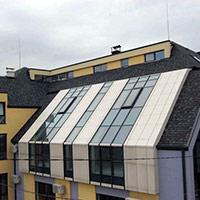 Покрив с битумни керемиди 611