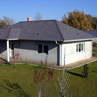 Покрив с битумни керемиди 607