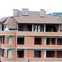 Покрив с битумни керемиди 605