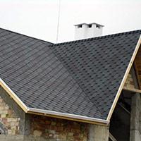 Покрив с битумни керемиди 596