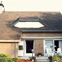 Покрив с битумни керемиди 593