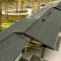 Покрив с битумни керемиди 592