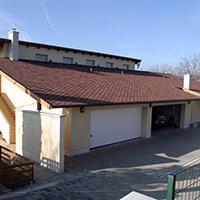 Покрив с битумни керемиди 584