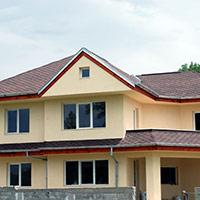 Покрив с битумни керемиди 580