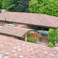 Покрив с битумни керемиди 570