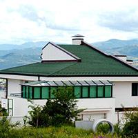 Покрив с битумни керемиди 566