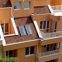 Покрив с битумни керемиди 564