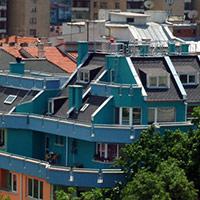 Покрив с битумни керемиди 559