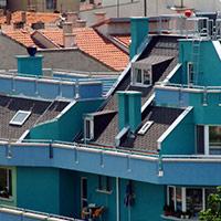 Покрив с битумни керемиди 557