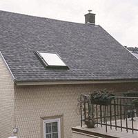 Покрив с битумни керемиди 555