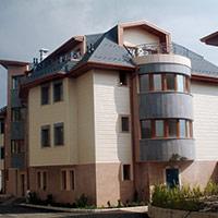Покрив с битумни керемиди 550
