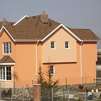 Покрив с битумни керемиди 545