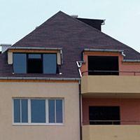 Покрив с битумни керемиди 539