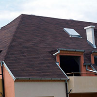 Покрив с битумни керемиди 535