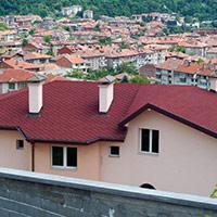 Покрив с битумни керемиди 528