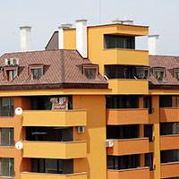Покрив с битумни керемиди 525