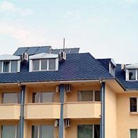 Покрив с битумни керемиди 524