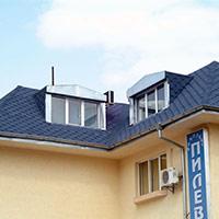 Покрив с битумни керемиди 523