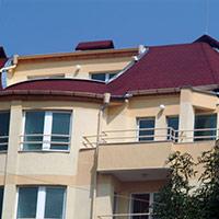 Покрив с битумни керемиди 516