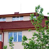 Покрив с битумни керемиди 512
