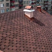 Покрив с битумни керемиди 506