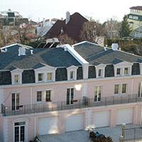 Покрив с битумни керемиди 491