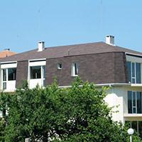 Покрив с битумни керемиди 490