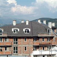 Покрив с битумни керемиди 480
