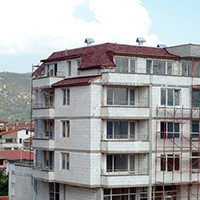 Покрив с битумни керемиди 478