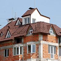 Покрив с битумни керемиди 462