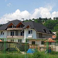 Покрив с битумни керемиди 456