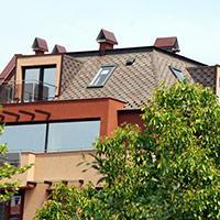 Покрив с битумни керемиди 440