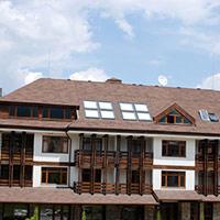 Покрив с битумни керемиди 414