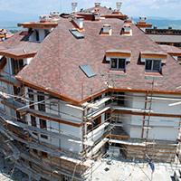 Покрив с битумни керемиди 411