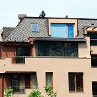 Покрив с битумни керемиди 410