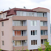 Покрив с битумни керемиди 405