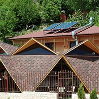 Покрив с битумни керемиди 387