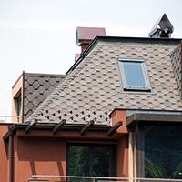 Покрив с битумни керемиди 385